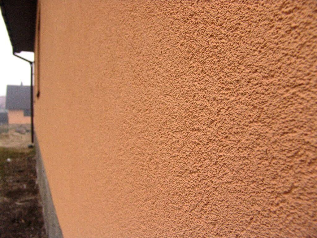 наружная стена выполненная баритовой штукатуркой