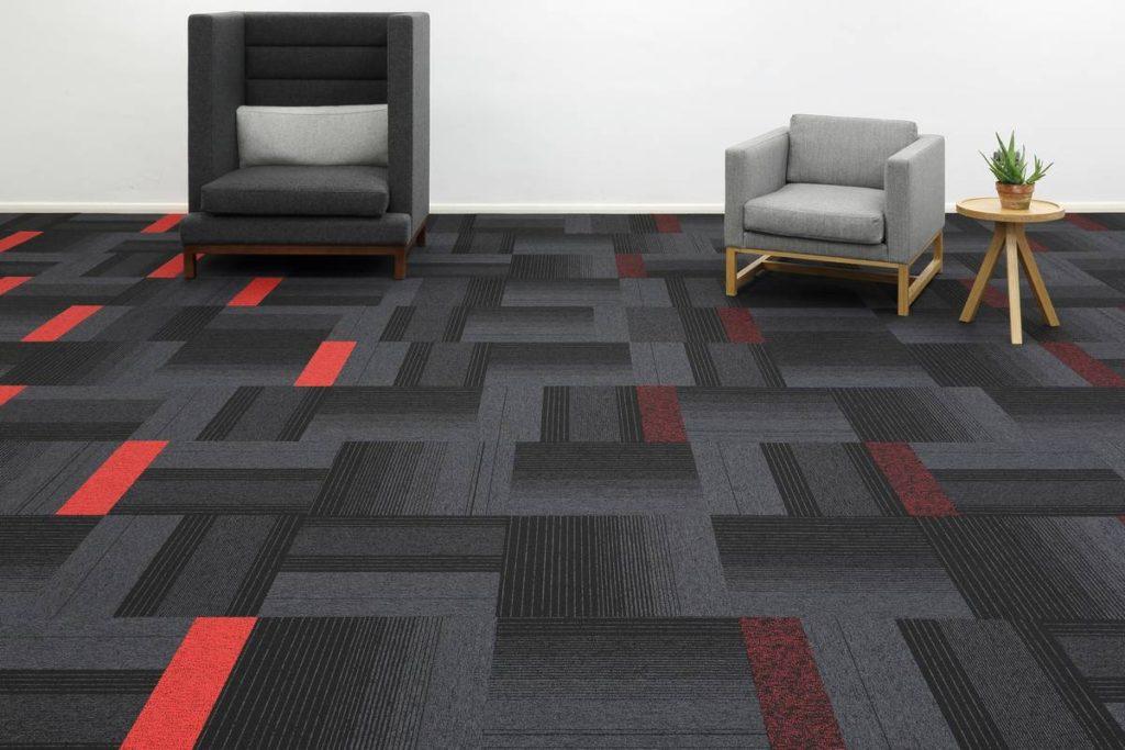 красивая ковровая плитка