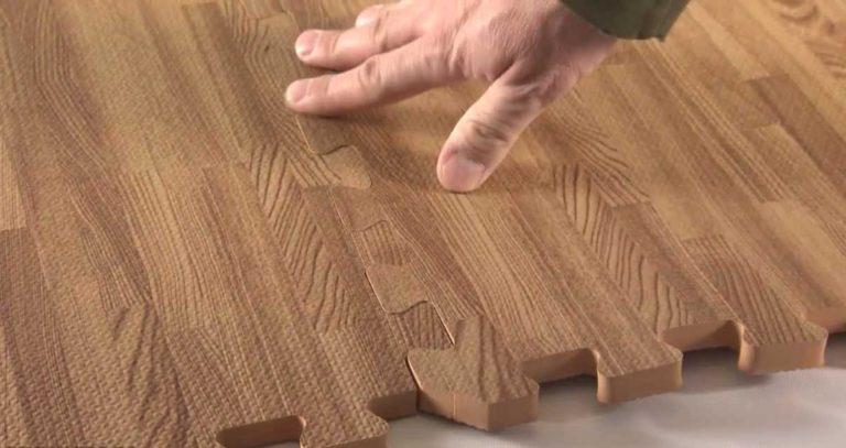 сцепление модулей мягкого покрытия ева