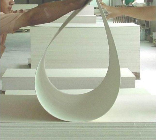 сгибание стекломагниевого листа