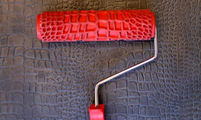 Резиновый структурный валик