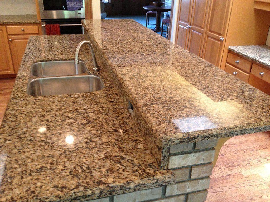 кухонная столешница из жидкого камня