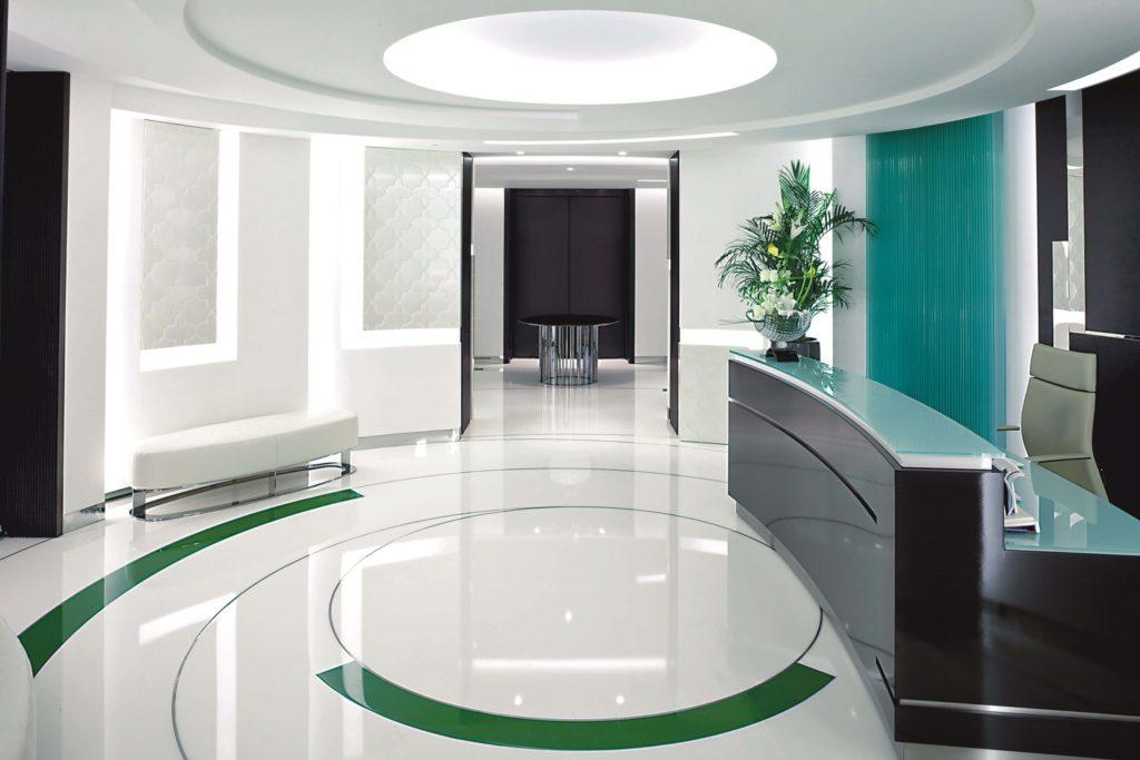 наливной пол в офисе