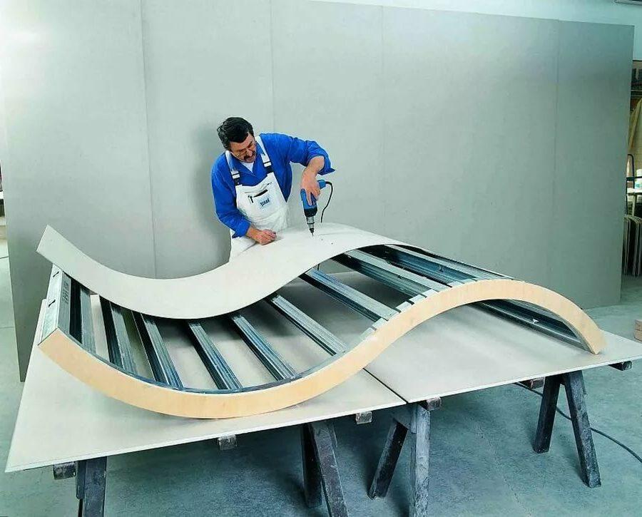 изготовление конструкции из стекломагниевого листа