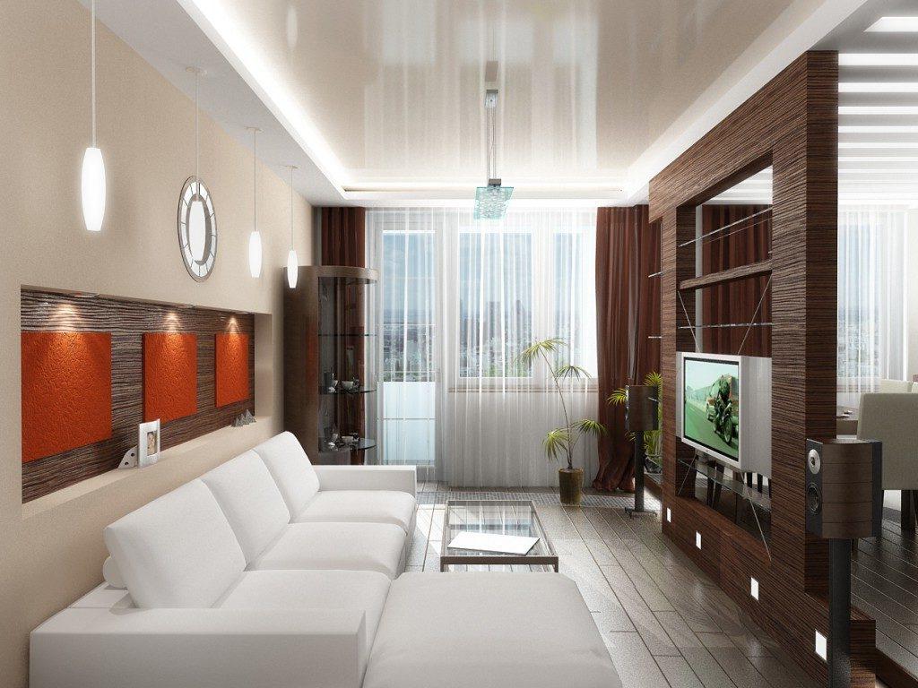 интерьер гостиной стильное оформление помещения